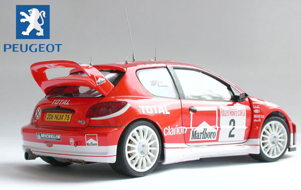 Tamiya Peugeot 206 Wrc 2003 Rally Car